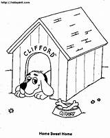 Dog Kennel Coloring Pages Drawing Printable Drawings Architecture Snoopy Getcoloringpages Getdrawings Buildings Coloringhome sketch template