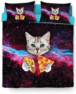 Taco Cat Bed Duvet Cover and Pillow Case from RageOn