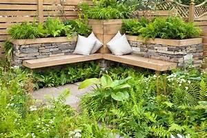 Kleiner Gartenzaun Holz : garten sitzecke gestalten ideen f r kleine gro e g rten ~ Bigdaddyawards.com Haus und Dekorationen