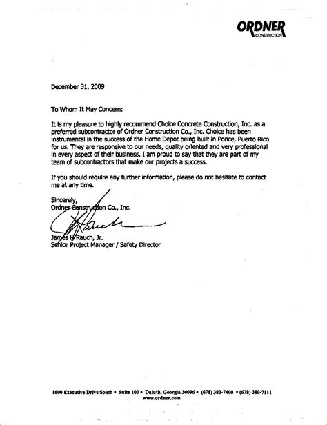 letter of recommendation templates letters of recommendation template choice image 23060