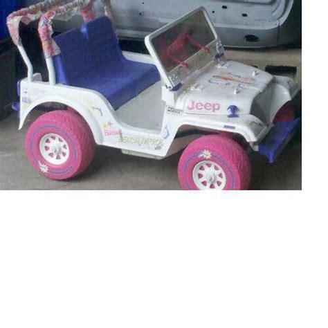 power wheels jeep 90s 90s barbie power wheels beach buggy jeep had the gray