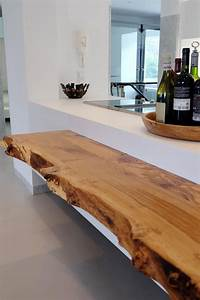 Massivholzplatte Mit Baumkante : k che wei mit baumkante resch innenausbau ~ Michelbontemps.com Haus und Dekorationen