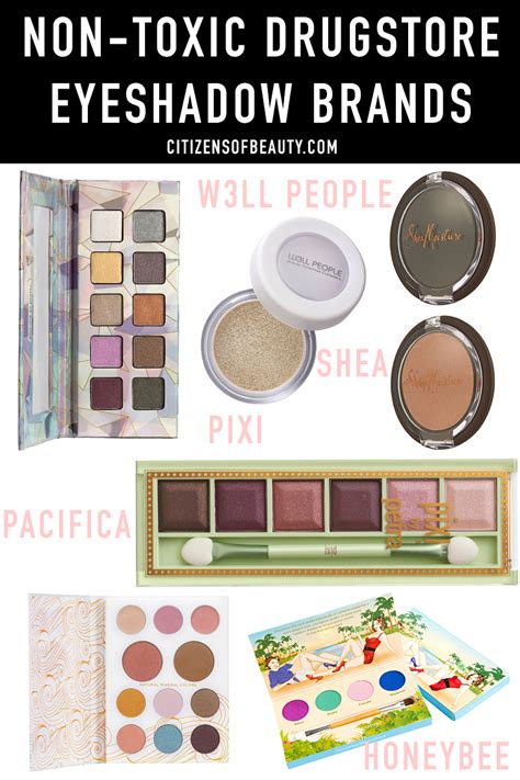 toxic drugstore eyeshadow makeup brands citizens  beauty