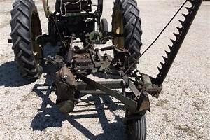 1952 John Deere Mt Tractor