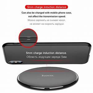 Iphone 8 Plus Wireless Charging : hoco original qi wireless charger desktop wireless ~ Jslefanu.com Haus und Dekorationen