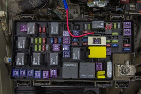 Jeep Comp Horn Location Wiring Automotive Diagram Fuse