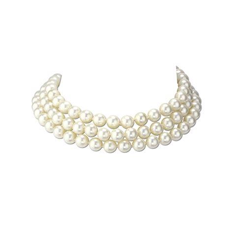 ras de cou perle collier de chien ras de cou femme en perles blanches nacr 233 es