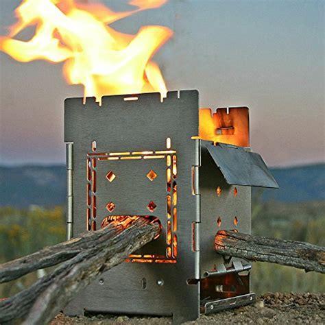 Firebox Bushcraft Camp Stove Kit   Wood Burning / Multi