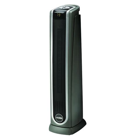 Lasko Floor Fan Wattage by Lasko Heaters 23 In 1500watt Digital Ceramic Tower Heater