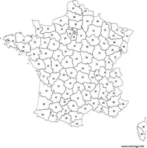 Carte De Par Département à Colorier by Coloriage Carte Des Departements De Dessin