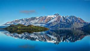 Wallpaper New Zealand, Mountain, 4k, HD wallpaper, Lake ...