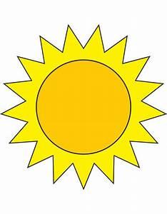 Disegno di Il Sole a colori per bambini