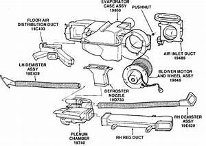 Where U0026 39 S The Blower Motor Resistor Located On 95 Mercury