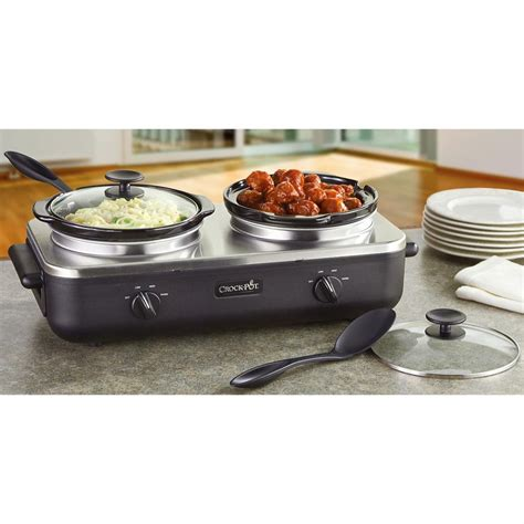 Rival® Duo Buffet Crock Pot®  201845, Kitchen Appliances