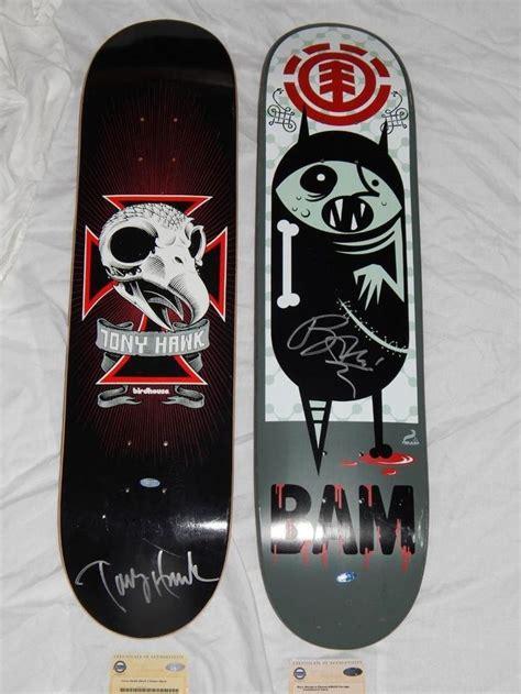 Tony Hawk Signed Skateboard Deck by 1000 Ideas About Tony Hawk On Skateboard