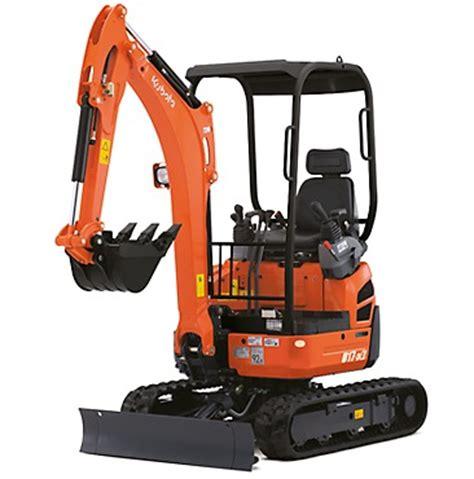 kubota   mini excavator  hire north east diggers