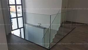 Garde Corps En Verre : garde corps verre sans poteaux yutz art escaliers ~ Melissatoandfro.com Idées de Décoration