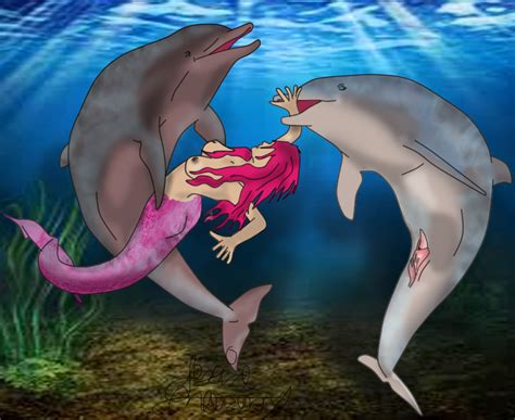 Rule 34 Breasts Cetacean Dolphin Female Feral Fin Forced
