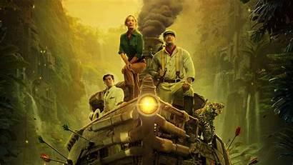 Jungle Cruise Movies Wallpapers 4k Blunt Dwayne