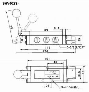 Hand Lever Pneumatic Directional Control Valve Five Way Pt1  4 U0026quot
