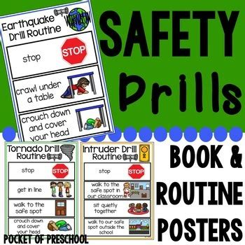 safety drills books amp routine posters earthquake tornado 549 | original 2808260 1