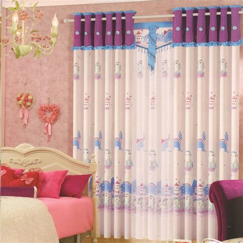 Room Darkening Curtains For Kids Cotton Fabric