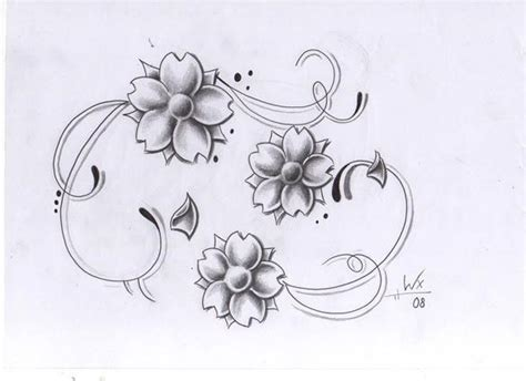 flower tattoo designs   clip art