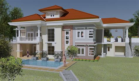desain rumah mewah  keren