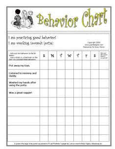 positive discipline for preschoolers pdf behavior sticker chart for the week copii behaviour 601