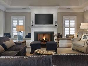Family Room Decorating Ideas With Fireplace
