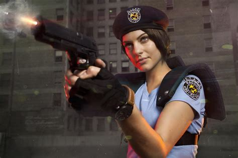 Jill Valentine's Character Model, in Cosplay | The Mary Sue