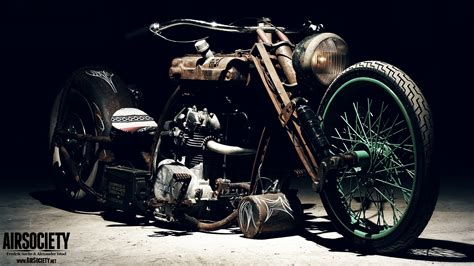 Vintage Chopper Motorcycles