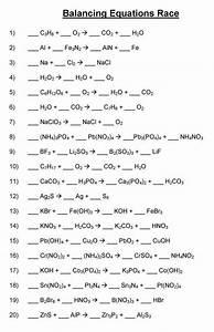 Phet Balancing Chemical Equations Worksheet Answers Pdf
