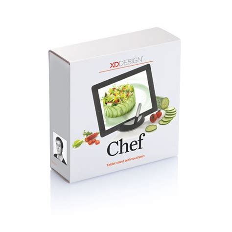 support tablette cuisine support tablette tactile avec stylet quot chef quot à 17 99
