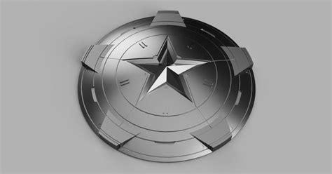 3d printable marvel captain america shield play 2