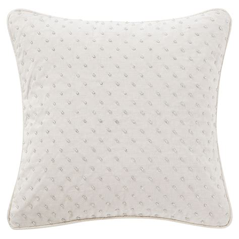 waterford pearl pillow ornament gracious florence reversible steel blue paisley comforter bedding by waterford l