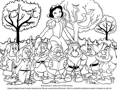 disegni per bambini da stare e colorare principesse migliore 20 disegni da colorare principesse biancaneve