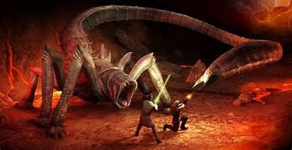 Kar Sher Mustafar Creatures Attack Wars Star
