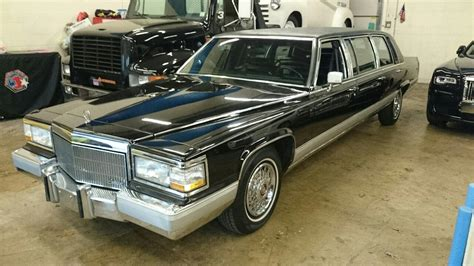 Limo For Sale by 1992 Cadillac Fleetwood 6 Door Stretch Limo For Sale