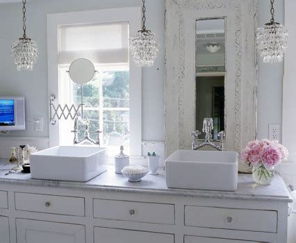 Shabby Chic Bathroom  Cottage  Bathroom  Elle Decor