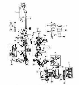 Hoover Model Uh72400 Vacuum  Upright Genuine Parts