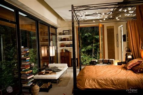 twilight cullen house twilight eclipse the cullen house edward s bed room after he added the bed for bella