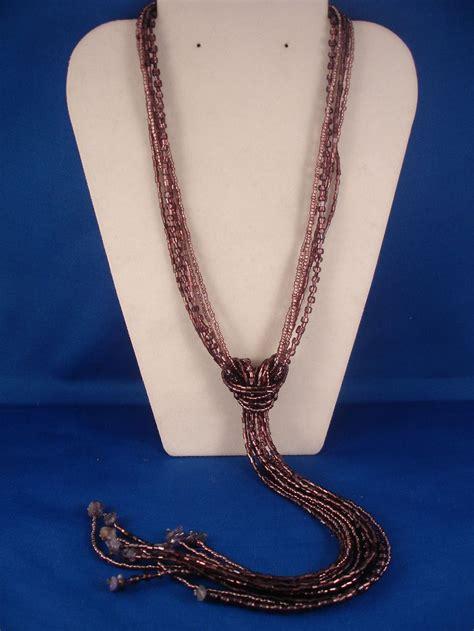 Amethyst Beads & Genuine Stones Necklace, European Fashion ...