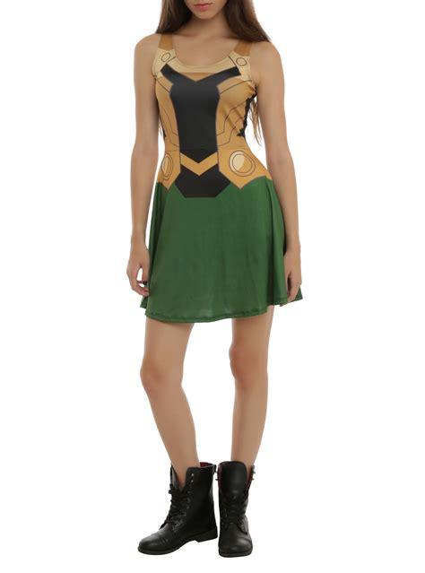 Marvel Her Universe Loki Costume Dress Styled By Marvel