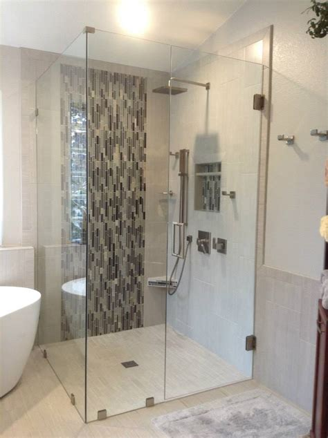 custom frameless shower enclosures  shower doors
