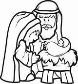 Jesus Born Sheet Coloring Template sketch template
