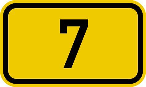 file bundesstraße 7 number svg wikipedia