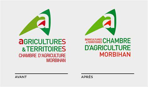 chambre d agriculture du morbihan univers graphique et supports institutionnels orignal