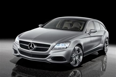 cars mercedes mercedes benz shooting break concept car taking the coupe
