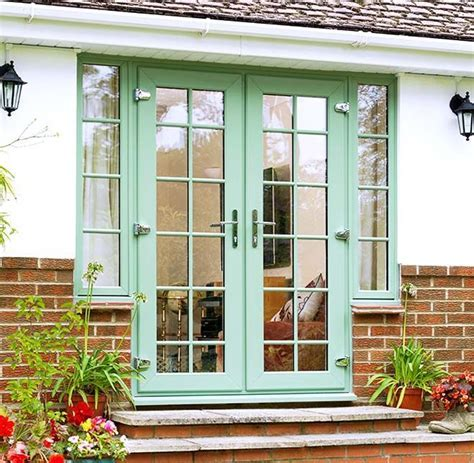 Full view of Everest uPVC French Doors in a Chartwell